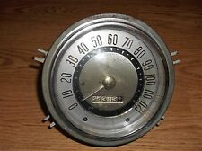VINTAGE 1953 1954 DODGE CORONET SPEEDOMETER GOLD NUMBERS - RAT ROD OLD CAR PARTS
