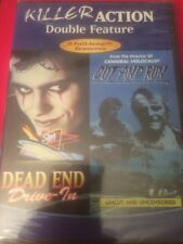 Dead End Drive-In/Cut and Run (DVD, 2007) 2 RARE OOP FILMS BRAND NEW