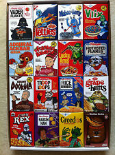 Star Wars Celebration V parody cereals - Exclusive limited to 350 - COMPLETE SET