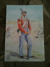 Military Postcard 10th North Lincoln Regiment Sobraon 1846 by Alix Baker