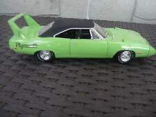 1970 Plymouth Superbird Lime Green Black Int Chase Car 1:18 ERTL American Muscle
