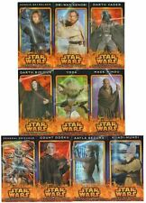 Star Wars ROTS Flix-Pix 3D Widevision Card Set #1-10 Topps Revenge of the Sith