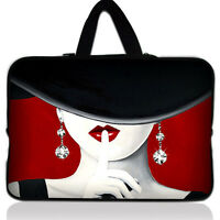 """Lady 11.6""""~ 12"""" inch Laptop Netbook Notebook Sleeve Bag Tablet Case Cover Soft"""