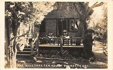 RP Postcard Outdoor Dining at Rose Tree Tea House in Pasadena, California~110694