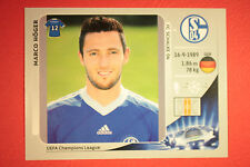 PANINI CHAMPIONS LEAGUE 2012/13 N. 111 HOGER SCHALKE 04 BLACK MINT!