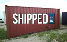20 FT USED SHIPPING CONTAINER WWT, Storage, Construction, Shed in DENVER, CO