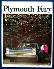 Prospekt brochure 1965 Plymouth Fury (USA)