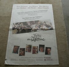 1985 TWICE IN A LIFETIME ORIGINAL MOVIE THEATER POSTER - GENE HACKMAN