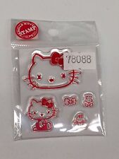 Hello Kitty Clear Stamps