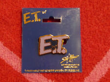 VINTAGE E.T. THE EXTRA-TERRESTRIAL LOGO Pinback/Brooch/Pin NEW Star Power