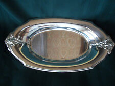 New listing Vintage Webster Wilcox Is Silverplated Serving Tray 13 x 7, Euc