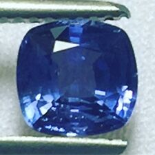 Natural 1.59 Carat Blue Sapphire Cushion Loose Color Change Gemstone Ceylon