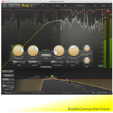 FabFilter PRO-C 2 Compressor Fab Filter Audio Software Plug-in NEW