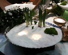 Kerzensand 400 g. m. 2 Dochten Vanille Kerzenwachs Teelichter Palmwachs Candle
