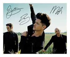 THE SCRIPT SIGNED AUTOGRAPHED A4 PP PHOTO POSTER C