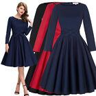 Sexy 50er 60er Jahre Pin Up Vintage Kleid Tanzkleid / Petticoat Rock Schwarz Rot