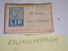 Lip T205 SAM axe de balancier  balance staff  Unruhwelle