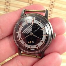 Pobeda 12-hour Dial, Analogue ZIM 2602, Mechanical Hand-winding USSR WRIST WATCH