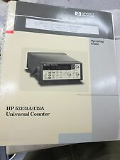 HP 53131A/132A Counter Operating Guide 53131-90021 3112D2