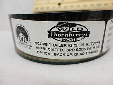 Wild Thornberry's Movie Scope 35mm movie trailer preview film cells collectible