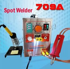 ECO 2 in 1 1.9KW Spot Welder+Soldering Iron Staion 709A Battery Welding Machine