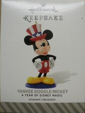 Hallmark 2014 - A Year Of Disney Magic - Yankee Doodle Mickey - NEW