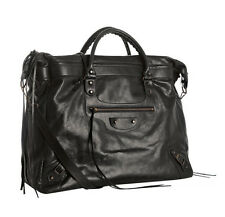 Balenciaga Unisex Classic Weekender Overnight Satchel Bag - 100% Authentic