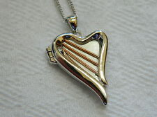 Clogau Sterling Silver & 9ct Rose Welsh Gold Heartstrings Locket RRP £169.00