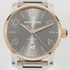 Authentic MONTBLANC 7258 106501 Time Walker  Automatic  #260-001-276-6369