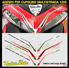 adesivi per cupolino multistrada 1200 stickers for fairing multistrada