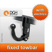 Fixed towbar swan neck Vauxhall Combo C 2002/2012 + 13-pin electric kit