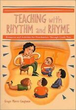Teaching with Rhythm and Rhyme: Resources and Activities for Preschool-ExLibrary