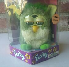 """Frog"" Furby NEW IN BOX #70-800 Tiger Electronics (1998) Gen 3"
