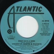 VINCENT ST. MARTIN & GLASSEYE Eight Days A Week (1987 U.S. Promo 7inch)