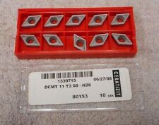 CERATIZIT   CARBIDE  INSERTS    DCMT 11 T3 08     GRADE N26   PACK OF 10