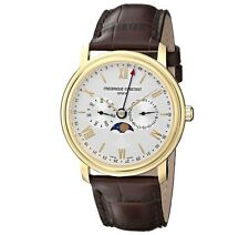 Frederique Constant Classics Business Timer Men's 40mm Quartz Watch FC-270SW4P5