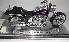 Maisto 1:18: Harley Davidson 2002 FLSTF Fat Boy
