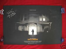 HALLOWEEN MONDO PHANTOM CITY ORIGINAL MOVIE POSTER ART PRINT P.J. SOLES SIGNED