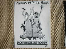 NORTH DALLAS FORTY PRESSBOOK 1979 BROCHURE FILM MOVIE AMERICAN FOOTBALL