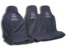 MERCEDES Sprinter Heavy Duty coprisedili-Nero resistente all'acqua