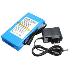 DC 12V 8000mAh Super Rechargeable Portable Lithium - ion Battery Pack **NEW**
