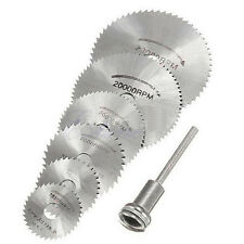 6Pcs/Set Rotary cutter Mini HSS Circular Saw Disc Blades Blade cutter