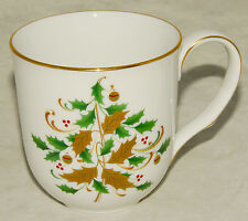 Noritake - White Scapes - Lockleigh - Holdiay Accent 4061 COFFEE CUP / Mug *NICE