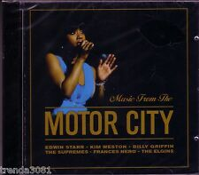 Music Motor City CD Classic Motown EDWIN STARR SUPREMES CONTOURS FIFTH DIMENSION
