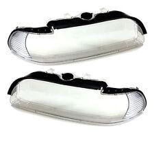 Scheinwerferglas Streuscheiben Set klar für Scheinwerfer BMW E39 5er 00-03