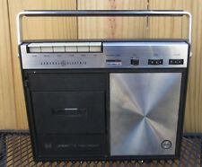 Vintage GE solid state Cassette player/recorder Model # M8350 w/mic. WORKING!!