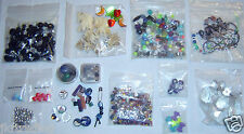 Mixed Beads part Lot for Art Crafts & Jewelry Making