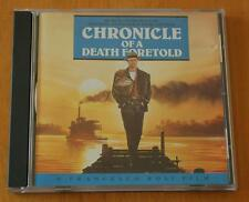 Chronicle Of A Death Foretold - Piero Piccioni - 1987 Soundtrack CD