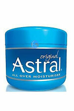 ASTRAL ORIGINAL MOISTURISING CREAM 500ml UK SELLER, BARGAIN!