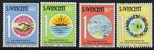 ST.VINCENT SG719/22 1983 10th ANNIV OF THE TREATY OF CHAGUARAMAS MNH